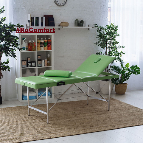Складной массажный стол RuComfort (180х60х70 см) Comfort ETALON 180