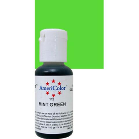 Краска краситель гелевый MINT GREEN 112, 21 гр