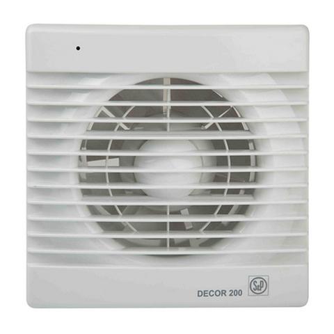 Вентилятор накладной S&P Decor 100 CR (таймер)