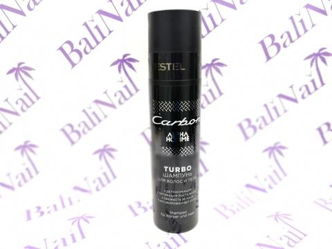 TURBO-Шампунь для волос и тела Estel Carbon 250мл.