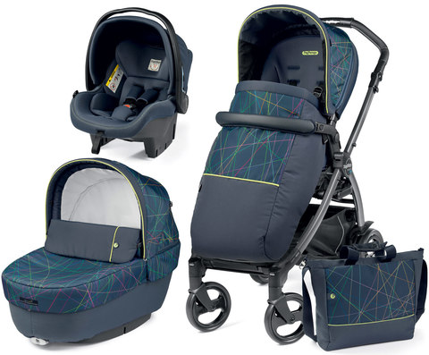 Коляска 3 в 1 Peg Perego Book Newlife Elite Modular