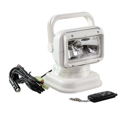 Прожектор галогеновый с беспроводным пультом ДУ, белый (серия 950)