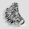 "Коннектор ""Ажурная трубочка"" (2-5) 38х19 мм (цвет - античное серебро)"