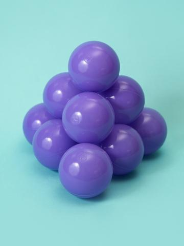 Шар фиолетовый комплект 50 шт.