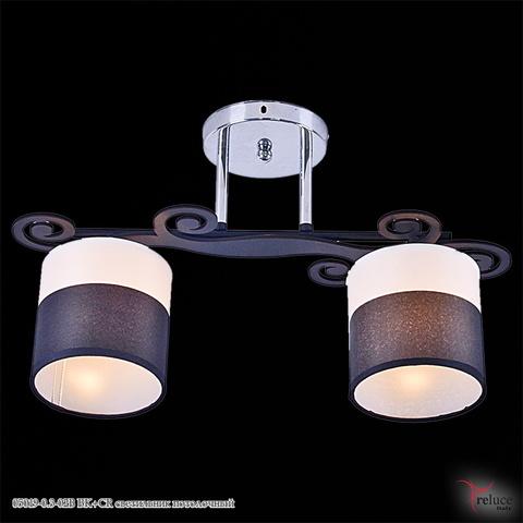 05019-0.3-02B BK+CR светильник потолочный