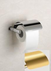 Держатель туалетной бумаги с крышкой Windisch 85351O Ribbed
