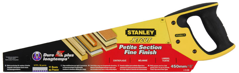 Ножовка по дереву   450мм Jet-Cut Fine Stanley 2-15-595