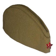 Пилотка военная / солдатская со звездой