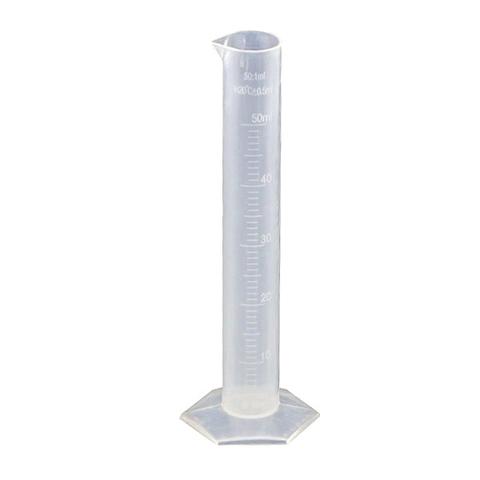 Цилиндр мерный пластмассовый 50 миллилитров
