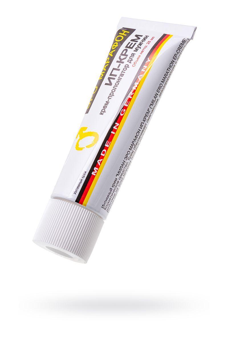 Пролонгаторы: Пролонгирующий интимный крем Milan ERO Marathon EP-creme - 28 мл.