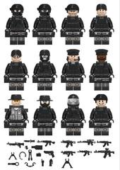 Минифигурки Военных Спецназ серия 380