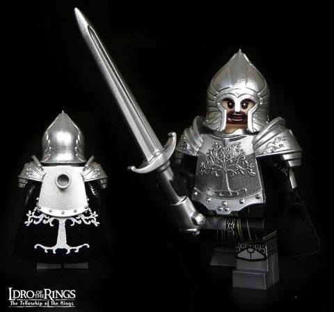Властелин колец минифигурка Воин Гондора