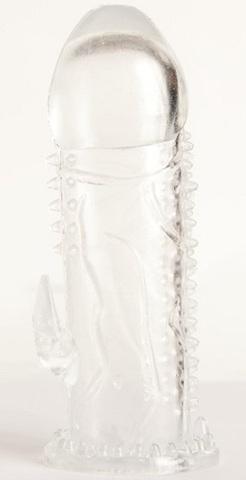Penis Sleeve с рельефом TOYFA (3 х 13,5 см)
