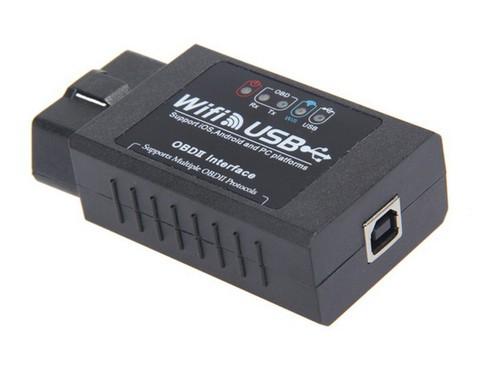 Автосканер ELM 327 WIFI + usb v1.5
