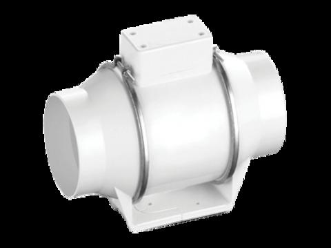 Вентилятор канальный Ballu Machine FLOW 125 в пластиковом корпусе