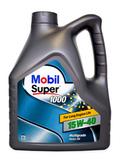 Mobil Super 1000 X1 15W-40 минеральное моторное масло (4л)