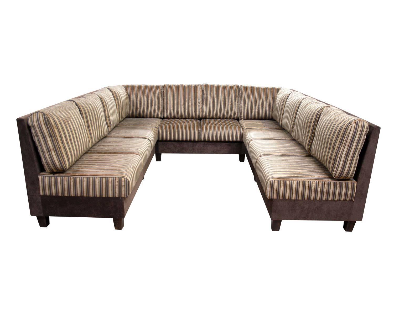 П-образный угловой диван Япошка