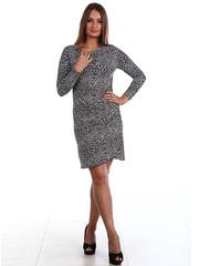 77-4 платье женское, серое