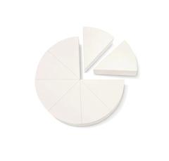 Косметический одноразовый спонж для нанесения тонального крема, Dr. Hauschka