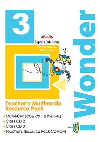 iWonder 3 - Teacher's Multimedia Resource Pack (set of 4)