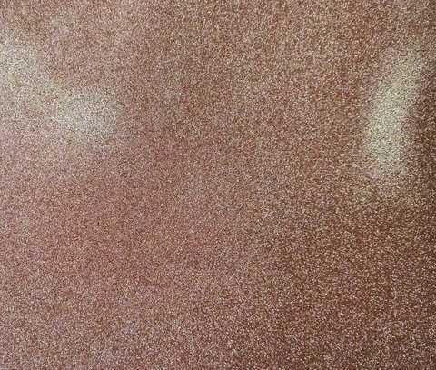 Глитерный фоамиран 2мм 60*70см. цвет светло-коричневый