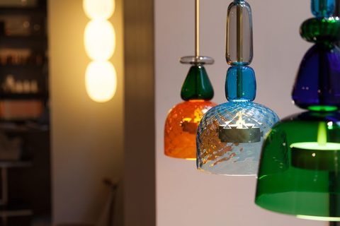 Pendant light Flauti by Giopatto & Coombes