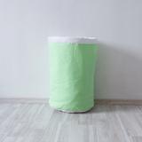 Тканевая корзина для игрушек Mint мятная зеленая