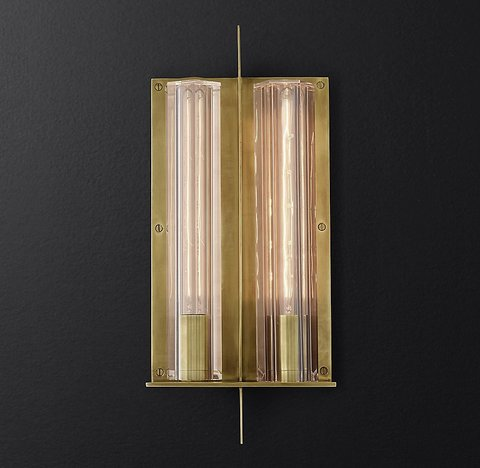 Charpentier Double Sconce