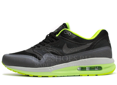 Кроссовки Мужские Nike Air Max 87 Lunarlon Black Grey Green