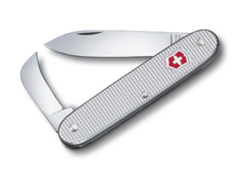 Нож Victorinox Pioneer, 93 мм, 2 функции, серебристый