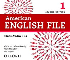AM ENGLISH FILE  2ED 1 CL CD(4)
