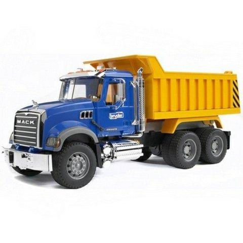 Bruder: Самосвал N MACK Granite Truck, 02-815