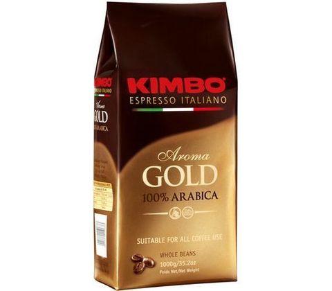 Кофе KIMBO Aroma Gold в зернах 1 кг