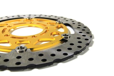 Передние тормозные диски Dream-moto (2 шт.) для Kawasaki ZX-10R 04-07, ZX-6R 05-13, ER-6N/F 06-13