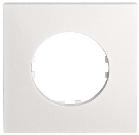 Рамка на 1 пост квадрат. Цвет Белый. LK Studio Vintage Quadro (ЛК Студио Винтаж куадро). 884104-1
