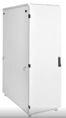 Шкаф телекоммуникационный напольный 42U (600 × 600) дверь металл