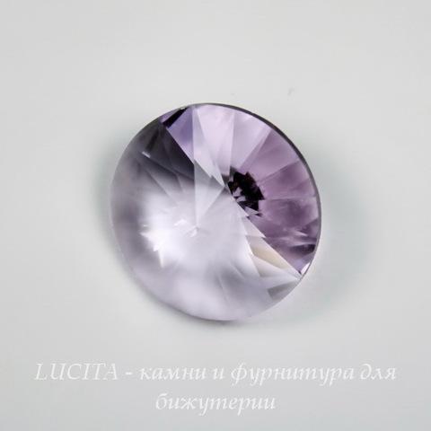 1122 Rivoli Ювелирные стразы Сваровски Violet (14 мм) (без фольги)