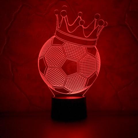 Art-Lamps Футбольный мяч с короной
