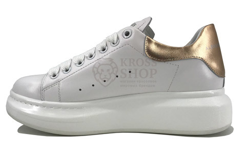 Alexander McQueen Women's White/Copper