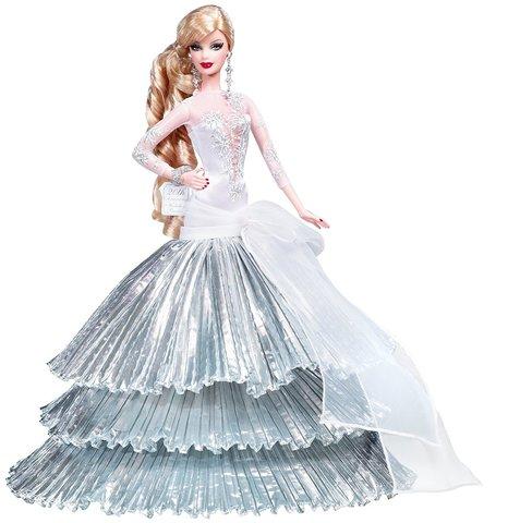 Коллекционная кукла Барби  2008 г. - Праздничная, Mattel