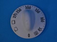 Ручка управления духовкой Gorenje белая 639286