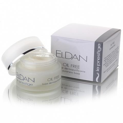 Eldan Оil free pureness base, Увлажняющий крем-гель для жирной кожи, 50 мл.