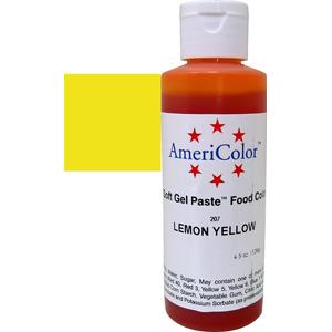 Краска краситель гелевый LEMON YELLOW 207, 127 гр