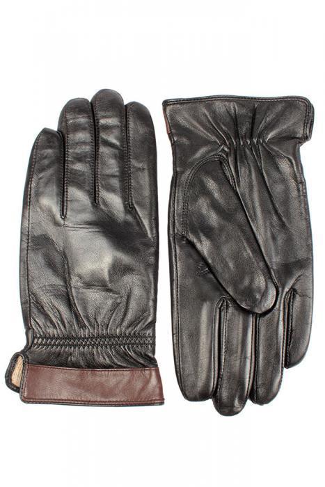 Перчатки_мужские Stella 49137 M BLACK