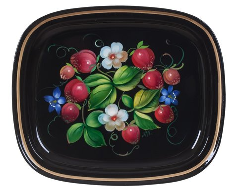 Zhostovo metal tray А6170419001