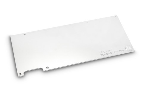EK-FC1080 GTX Ti FTW3 Backplate - Nickel