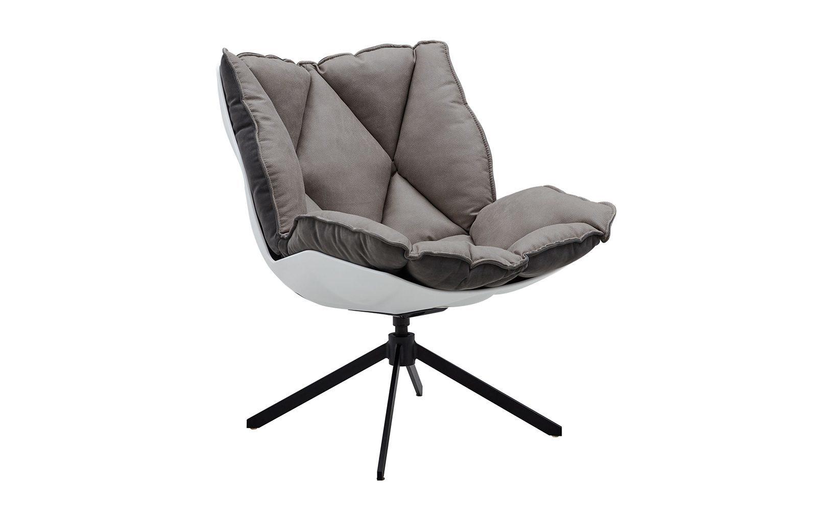 Дизайнерское кресло DC-1565D серое (GREY)