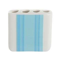 Стакан для зубных щеток Blonder Home Stripe&Floral