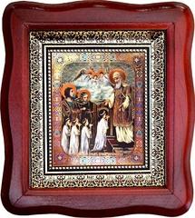 Введение во храм Пресвятой Богородицы. Печатная икона.