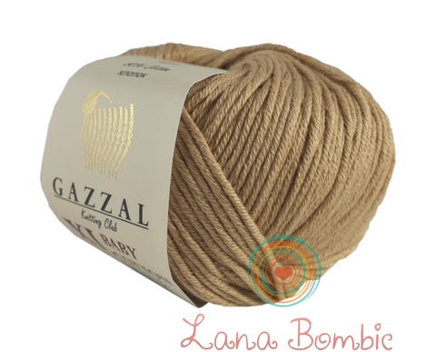 Пряжа Gazzal Baby Cotton XL беж 3424